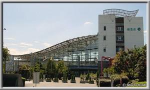 道の駅「川口・あんぎょう」全景