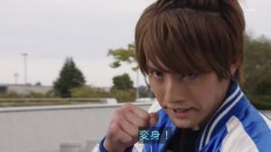 仮面ライダービルドのサブキャラ、万丈龍我。竹内涼真みたいにライダー出身俳優として成功するといいですね。