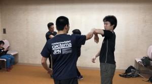 【11/10日(土)・システマ南埼玉の練習風景③】 クラスの最後は、練習した内容を生かしたストライクのフリーワークで締めました。