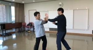 Yさんは練習熱心ですから、順調に動きが向上しています。