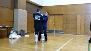 システマ東埼玉のT師匠がテクニカルハンド的な攻防をしています。このテクニカルハンドでは、システマの感覚が大いに生かせますね。