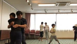 【7/27(土)システマ南埼玉の練習風景①】 いわゆる1つの「第1のワーク」。