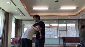 【9/28(土)システマ南埼玉の練習風景①】 今回も「第1のワーク」をやってみました。