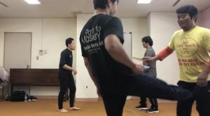 【12/14(土)システマ南埼玉の練習風景④】 続いて、第2ラウンド。このスパー形式にもだいぶ慣れてきたんじゃないでしょうか。クラスで練習した内容を生かしていただきたいですね。